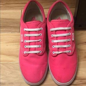 Hot Pink Vans!